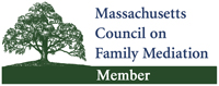 Massachusetts Council on Family Mediation Member logo.